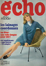 echo de la mode N°51 bernard clavel stephane di napoli 1968