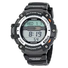Men's Casio Altimeter Barometer and Thermometer Watch - Black (SGW300H-1AVCF)