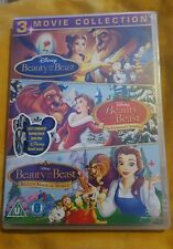 Beauty And The Beast Trilogy Belles Magical World Enchanted Christmas new sealed