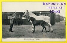 cpa Cliché NOBECOURT à PARIS EXPO CHEVALINE 1910 CONCOURS HIPPIQUE Horse Show