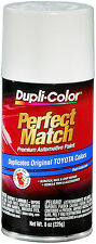 Dupli-Color BTY1556 Super White II Toyota Automotive Paint - 8oz FREE SHIPPING