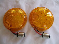 1947-48 Ford Car,1942-1947 Ford Truck Amber 21 LED Front Parking Lights