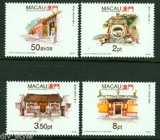 Temples set of 4 stamps mnh Macao Macau 1993 #685-8