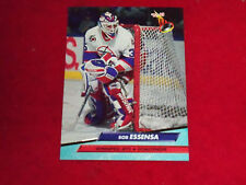 bob essensa (winnipeg jets-goalie) 1992/93 fleer ultra card #240 mint condition