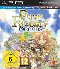Sony PS3 Playstation 3 Spiel ***** Rune Factory Oceans * Harvest Moon ***NEU*NEW