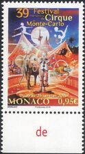 Monaco 2015 Circus Festival/Clowns/Tiger/Elephant/Animals/Animation 1v (mc1002)
