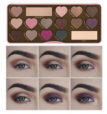 16 Colors Chocolate plate Eyeshadow Palette Cosmetic Makeup Palette & Mirror