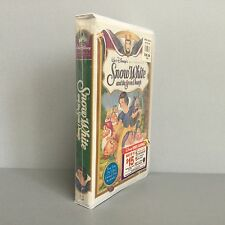 Snow White Disney Masterpiece Collection VHS Original Contents & Mirror Stickers