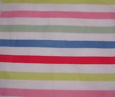 Cath Kidston paradise stripe white 100cm 1M square lightweight cotton fabric new