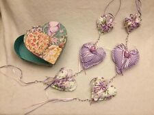 Hand-made hanging HEARTS wardobe perfume
