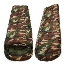 Waterproof Winter Camo Army Single Sleeping Bag Envelope Outdoor Camping Hiking