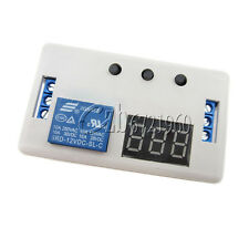 LED Delay Timer Control Switch Relay Module Automation 12V with case