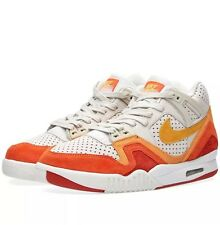 Nike Air Tech Challenge Lt Brown Laser Org Cinnabar Wht Men tennis shoe sz 10.5