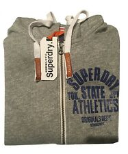 Superdry hoodie with zipper soft and light (XL size)