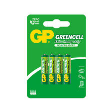 GP GREENCELL 4 PILE BATTERIE LR03 AAA MINI STILO 1,5V