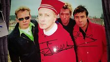 SEX PISTOLS SIGNED PHOTO PHOTOGRAPH LP VINYL LYDON JOHNNY ROTTEN SID VICIOUS 2