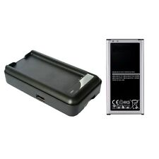 Extra High Capacity Replacement Battery & Charger for Samsung Galaxy S5 i9600