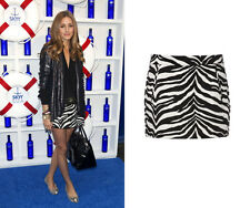 ZARA ZEBRA ANIMAL PRINT SKIRT OLIVIA PALERMO BLOGGERS SIZE M MEDIUM SOLD OUT