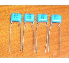 4 Condensateurs Soviet Mylar K73-17B NEUFS 22nF - 400V - 0.022uF - 22000pF