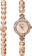 Latest Crystalla by Sekonda Bracelet and Watch Perfect Elegant  Gift Set