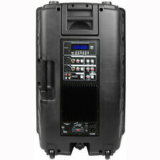 "Audio Pipe DJAP-1580BT 15"" Powered Bluetooth PA Cabinet"