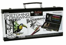 Royal and Langnickel Beginners Sketching and Drawing Art Set + Beginners Guide