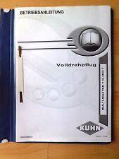 Kuhn Volldrehpflug Mult - Master 112 4E / 5 T Bedienungsanleitung