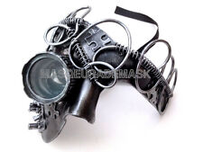 Steampunk Soldier Military Masquerade Ball Goggle  Mask Burning Man Party Prom