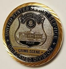 USSS US Secret Service Police Uniformed Division Crime Scene Search Unit 1.75""