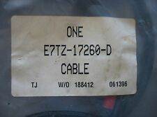 NOS NIP OEM FORD CABLE ASM SPEEDOMETER Part # E7TZ17260D