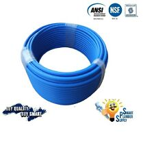 """1/2"""" X 300 ft BLUE PEX TUBING FOR WATER SUPPLY WITH 25 YEARS WARRANTY"""