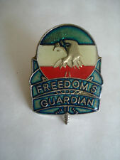PINS MILITAIRE USA Army Forces FORSCOM FREEDOM'S GUARDIAN