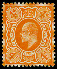 Sg240 SPEC M25(2), 4d pale orange, UNMOUNTED MINT. Cat £45. (RC)