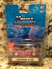 MUSCLE MACHINES TUNERS NISSAN G35 1/64 DIE CAST CAR