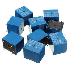 10 Pcs of 12V PCB Mount Suger Cube Relay