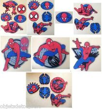 Marvel Decofun 2007 Spiderman Lot de 22 éléments de décoration en relief