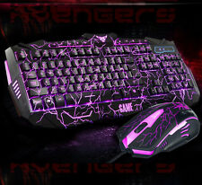 UThink Molten Backlight V100 Multimedia Usb Gaming Keyboard + 6 Buttons Mouse