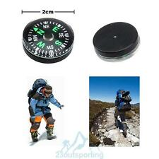 12Pcs Pocket Outdoor Liquid Button Filled Mini Handy Hiking Camping Compass Hot