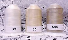 3 NEW different colors GUTERMANN miniking 100% polyester thread 1094 yd Spools