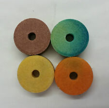 4 x Salt Chew Ring for Rabbits, Hamsters, Guinea pig etc - Great for their teeth