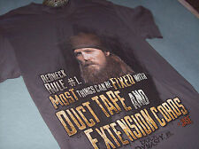 DUCK DYNASTY T-SHIRT ADULT MEDIUM NEW