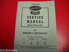 FORD SHOP SERVICE MANUAL 9N & 2N 1939-1947 TRACTORS FACTORY REPRINT FREE SHIPPED