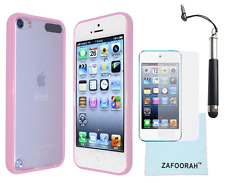 Slim Hard TPU Bumper Case Cover For Apple iPod Touch 5th & 6th Gen Generation