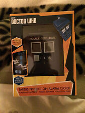 Doctor who Official  tardis  projection alarm clock