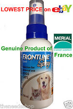 Frontline Spray For Dogs and Cats 100ml Merial France