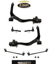 Front Lower Control Arms Sway Bars & Outer Tie Rods for Infiniti FX35 FX45 03-08