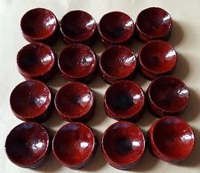 Wooden Stand Display 20-50mm Sphere Crystal Ball Eggs Minerals Polished