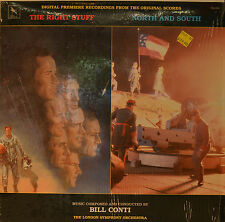 """OST - SOUNDTRACK- THE RIGHT STUFF - NOTRH AND SOUTH - BILL CONTI  12""""  LP (N105)"""