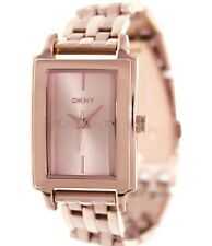 DKNY LADIE'S COLLECTION ROSE GOLD LUXURY DRESS STYLE WATCH NY8493