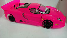 1:10 RC Nitro EXCRC Petrol Engine Pink Ferrari On Road Car